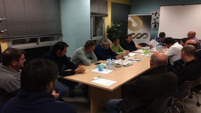 Reunión de empresarios del Altiplano sobre regadíos