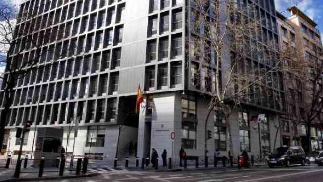 Sede de la Audiencia Nacional, en Madrid.