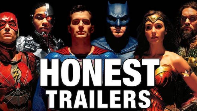 Vídeo del día: el tráiler honesto de 'Liga de la Justicia' llega cargado de collejas