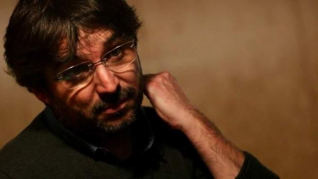 Jordi Évole, en un momento de la entrevista para 20minutos.