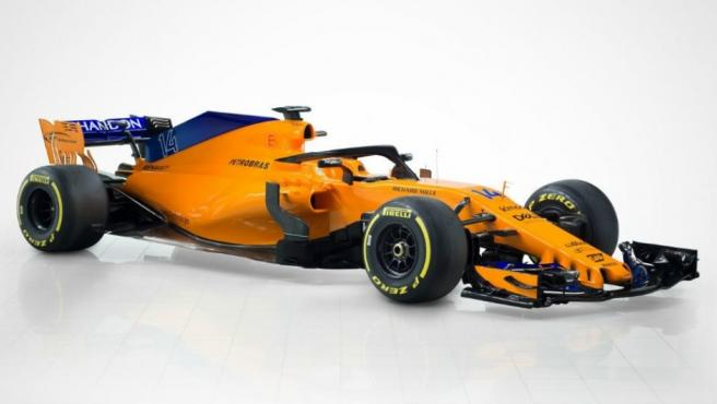 McLaren presenta el MCL33, el nuevo coche de Fernando Alonso.
