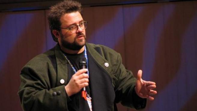 El director norteamericano Kevin Smith en el Festival de Sitges 2011.