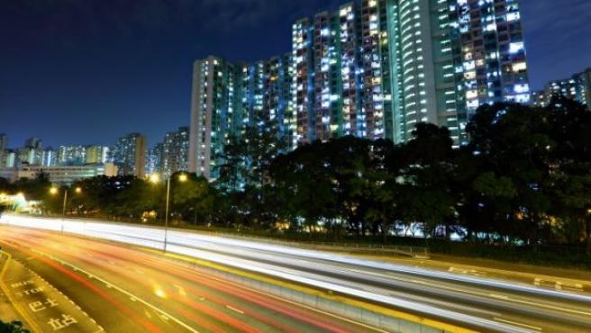 Una carretera china, en una imagen de archivo.
