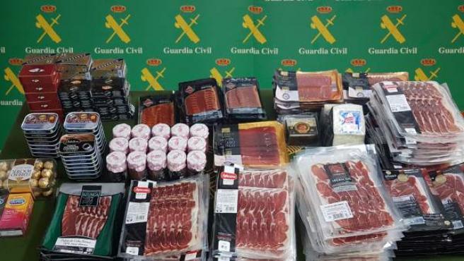 Productos robados en supermercados