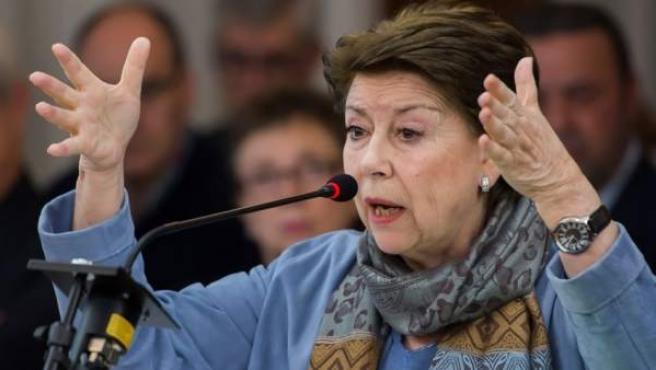 La exconsejera Magdalena Álvarez durante su declaración en el juicio de los ERE.