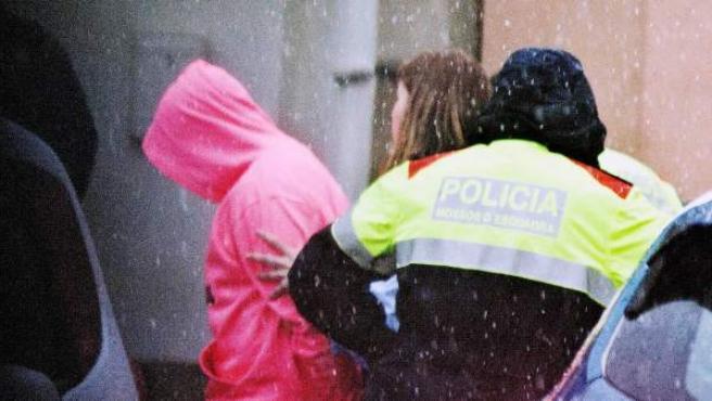 El hijo del presunto autor del doble crimen del pantano de Susqueda, Jordi Magentí, detenido por los Mossos d'Esquadra.