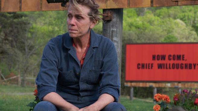 Por qué 'Tres anuncios en las afueras' no debería ganar el Oscar
