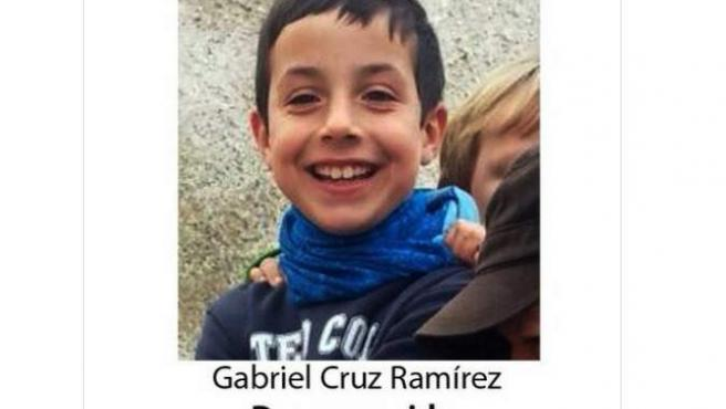 Gabriel Cruz, desaparecido en Almería.