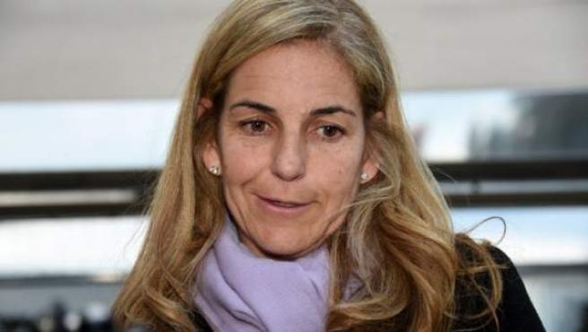 La extenista Arantxa Sánchez Vicario, en una imagen de archivo.