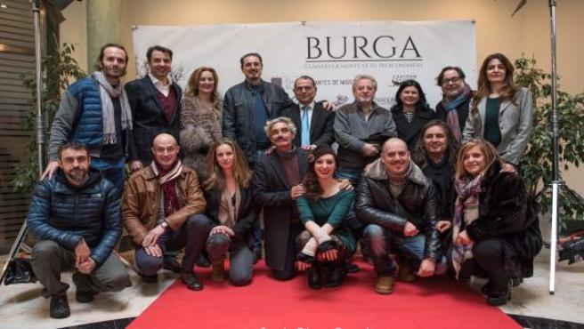 Equipo de 'Burga', la película