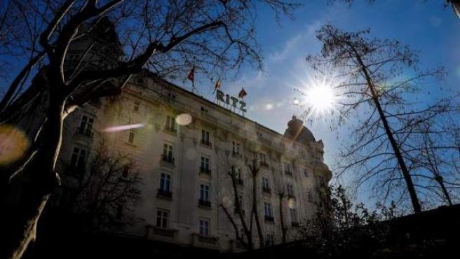 El hotel Ritz, en Madrid.