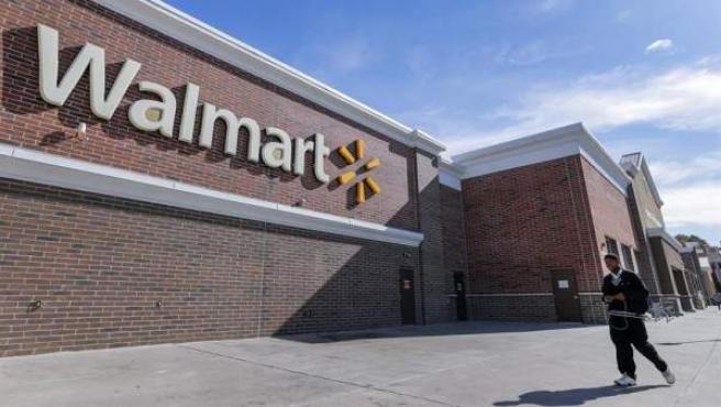 Una tienda de la cadena Walmart en Marietta, Georgia, Estados Unidos.