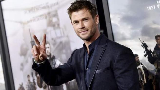 Una imagen reciente del actor Chris Hemsworth.