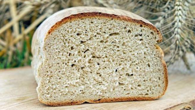 Imagen de archivo de una hogaza de pan.