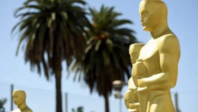 Preparación de los premios Óscar.