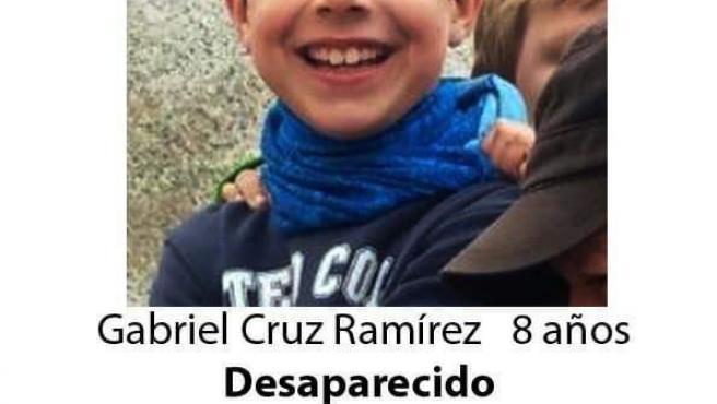 Gabriel Cruz, el niño de ocho años desaparecido en Níjar (Almería).