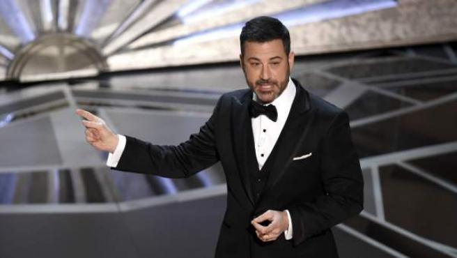 Jimmy Kimmel, en la gala de los Oscar.