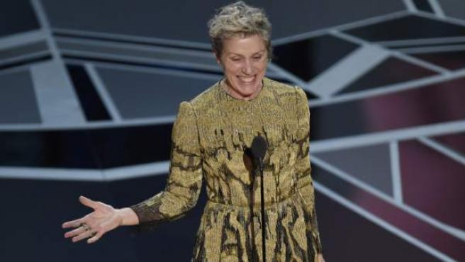 Frances McDormand, Óscar a mejor actriz.