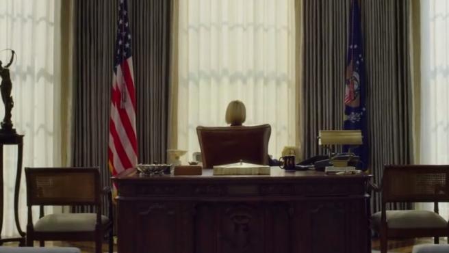 Fotograma del primer tráiler de la última temporada de House of Cards.