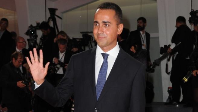 El candidato a las elecciones generales de Italia por el Movimiento Cinco Estrellas (M5S) Luigi di Maio.