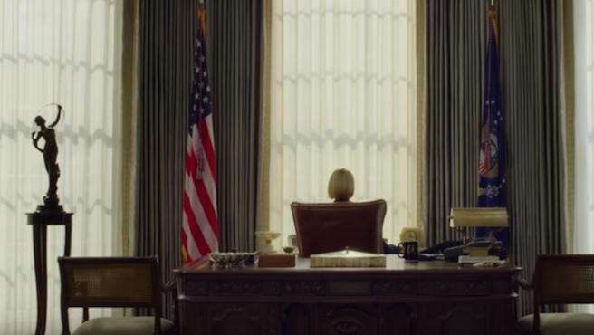 'House of Cards': Robin Wright conquista la Casa Blanca en el primer avance de la 6T