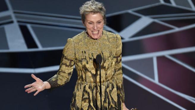 ¿Han intentado robar el Oscar a Frances McDormand?