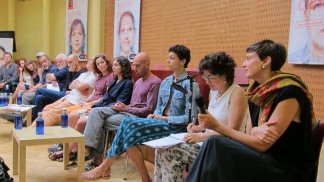 Artistas y creadores del Festival Grec de Barcelona.