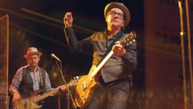 El artista Elvis Costello