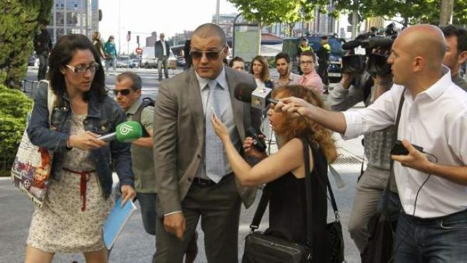 El organizador de la fiesta en el Madrid Arena, Miguel Ángel Flores.