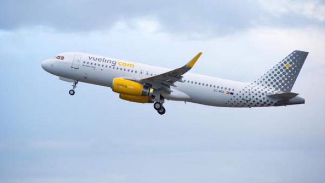 Un avión de la compañía aérea Vueling.