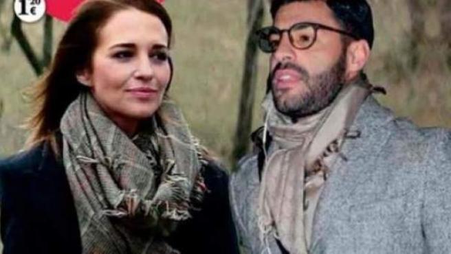 Portada de la revista Corazón TVE con el primer encuentro entre Paula Echevarría y Miguel Torres.