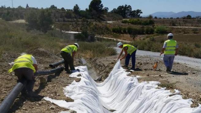 Obras carretera Coín-Casapalma Guadalhorce