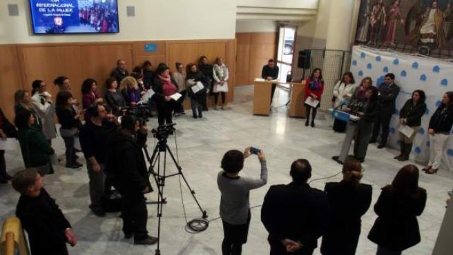 Acto en el Colegio de Abogados de Málaga con motivo del Día de la Mujer