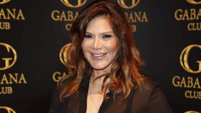 La presentadora Ivonne Reyes en un evento que se celebró el 1 de marzo de 2018.