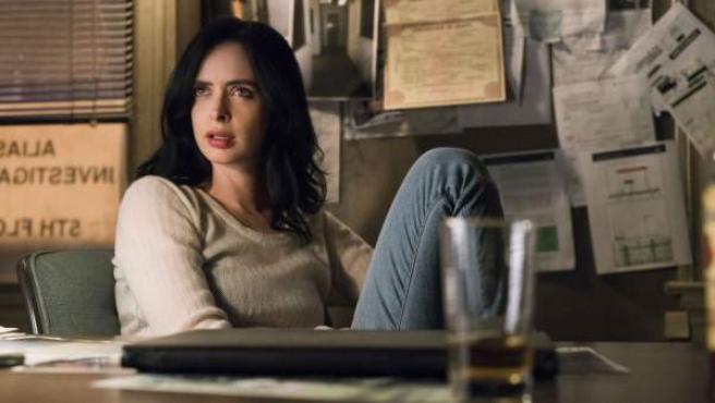 La detective Jessica Jones, protagonista de una de las series de Netflix.