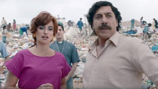 Fotograma de esta película dirigida por Fernando León de Aranoa, y protagonizada por Javier Bardem y Penélope Cruz.