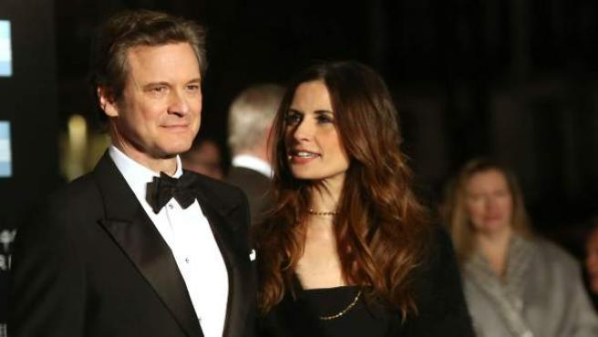 Colin Firth y la productora Livia Giuggioli llevan 21 años casados. Se conocieron en la miniserie 'Nostromo' (1996).