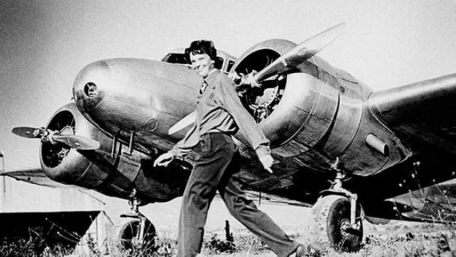 Amelia Earhart, en una imagen de 1937.