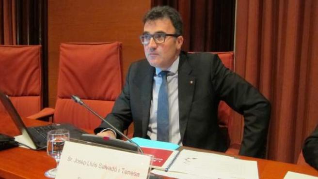 El exsecretario de Hacienda del Govern, Lluís Salvadó.