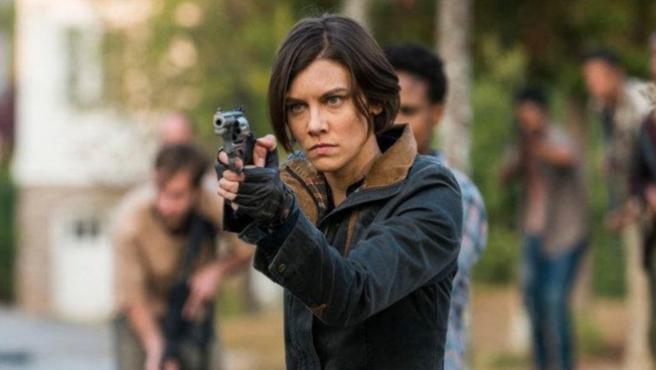 """""""Pagad a la mujer"""". Continúan los problemas entre Lauren Cohan y 'The Walking Dead'"""