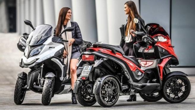 Aunque puede parecerse a un quad, la forma de conducir esta moto, la Quadro4, es completamente opuesta.
