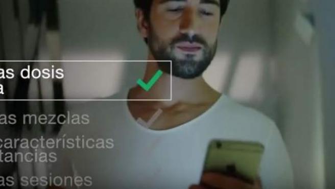 Captura del vídeo de una campaña puesta en marcha por la Felgtb para alertar de los riesgos del chemsex.
