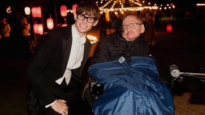 'La teoría del todo': Eddie Redmayne se despide de Stephen Hawking