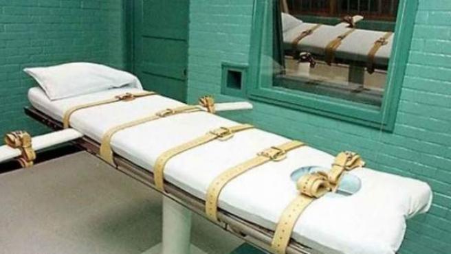Camilla preparada para ejecutar a un preso en EE UU.