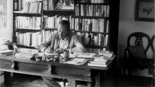 El escritor Miguel Delibes.