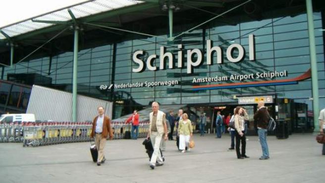 El aeropuerto de Ámsterdam-Schiphol.