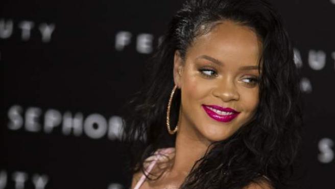 La cantante Rihanna en una imagen de archivo.