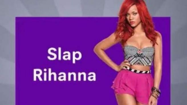 La publicidad de un juego de Snapchat se burlaba de la agresión que Rihanna sufrió por parte de su expareja Chris Brown.