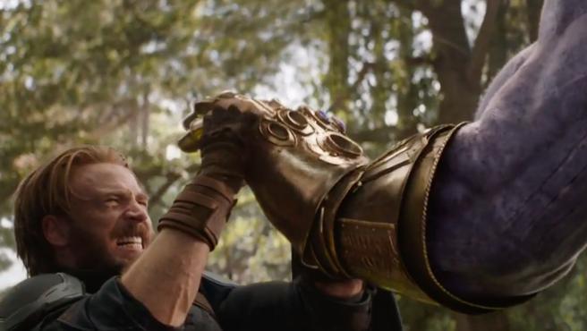 Thanos y el Capitán América protagonizan el meme del día gracias a 'Infinity War'