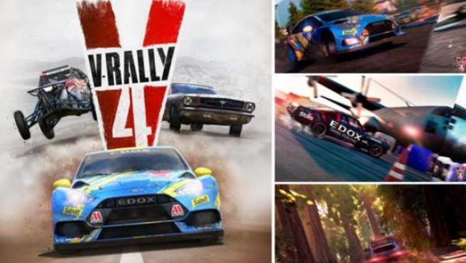 'V-Rally 4' llega para PlayStation 4, Nintendo Switch, Xbox One y PC.